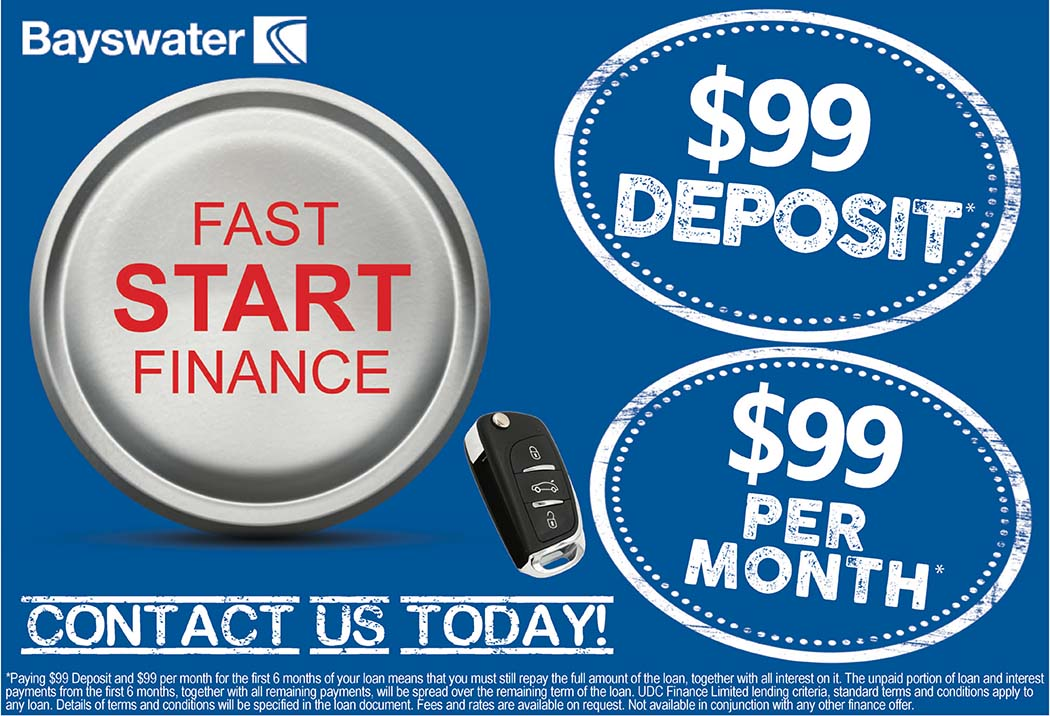 Fast Start Finance - $99 Deposit and $99 Per Month