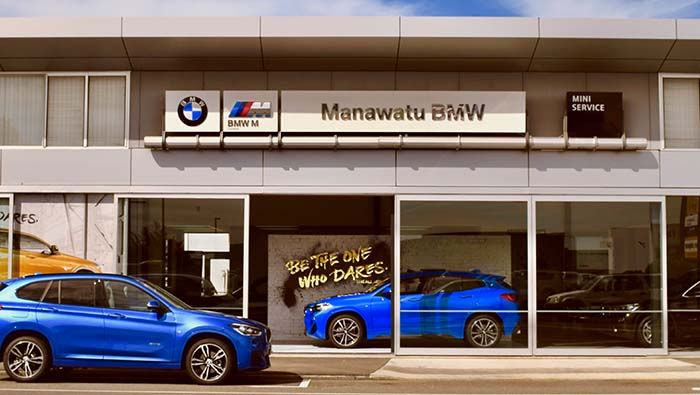 Manawatu BMW Showroom